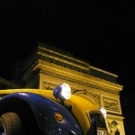2CVParisTour : Visitez Paris en 2CV - Arc de Triomphe