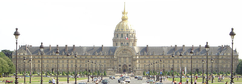 2CV Paris Tour : Visiter Paris en 2CV! Les Invalides
