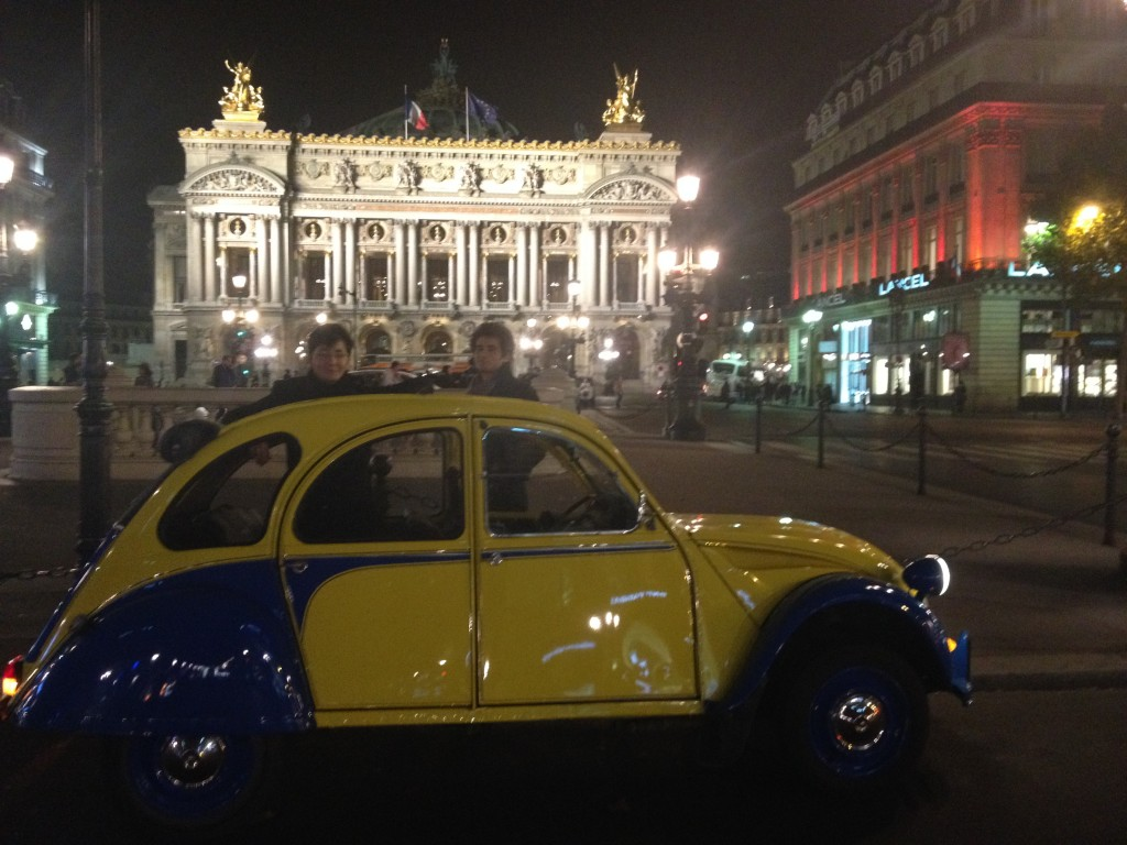 2CVParisTour : Visitez Paris en 2CV - Opéra Garnier