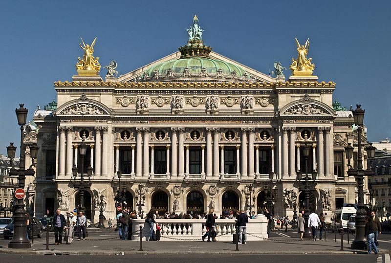 2CVParisTour : Visiter Paris en 2CV! L'Opéra Garnier