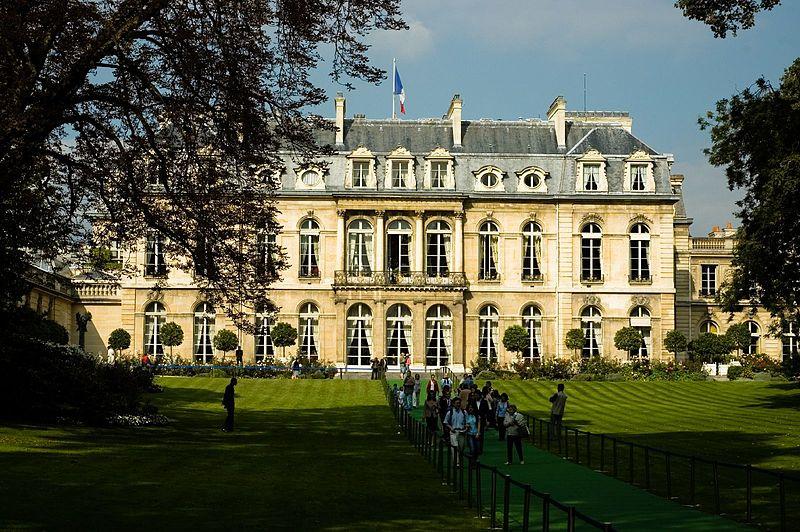 2CVParisTour : Visiter Paris en 2CV! Palais de l'Elysée