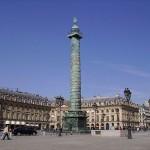 2CVParisTour : Visiter Paris en 2CV! La Place Vendôme