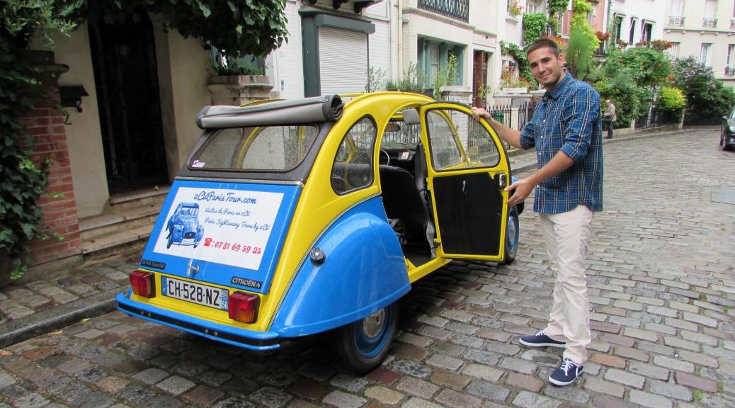 Paris en 2CV avec 2CVParisTour!