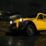 2CVParisTour : Visitez Paris en 2CV! La 2CV, Notre Dame et les cadenas des amoureux