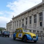 2CVParisTour : Balades en 2CV à Paris! Le Palais de Justice