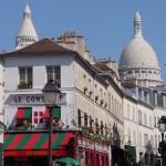 2CVParisTour : Visiter Paris en 2CV! Montmartre