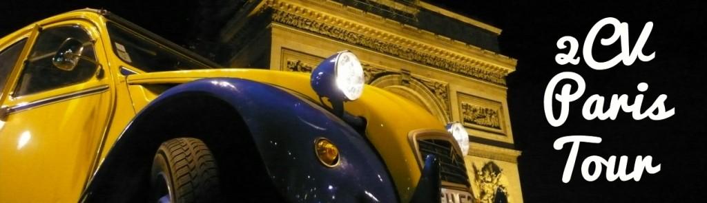 2CVParisTour.fr : Visiter Paris en 2CV - Balades en 2CV à Paris