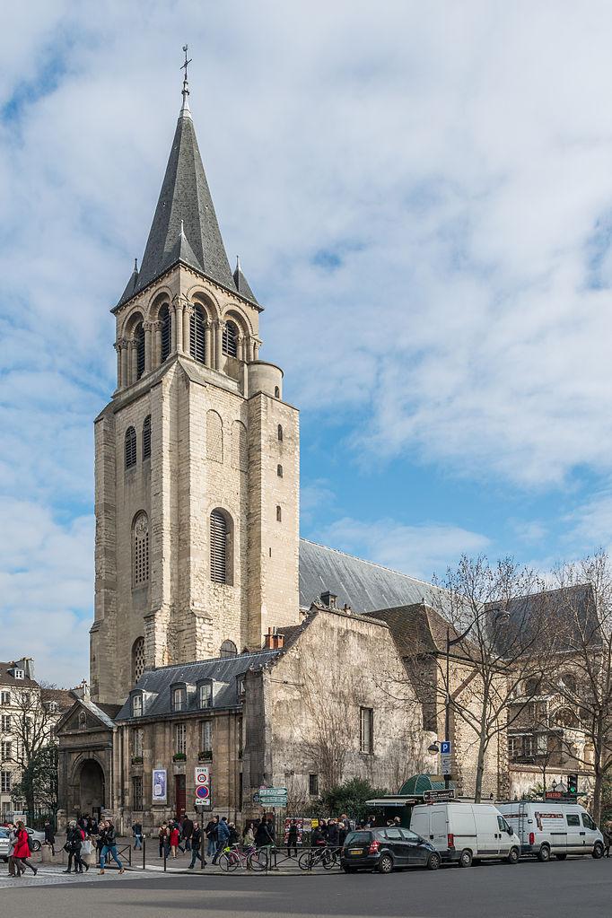 2CVParisTour : Visiter Paris en 2CV! Le Quartier de Saint Germain des Prés